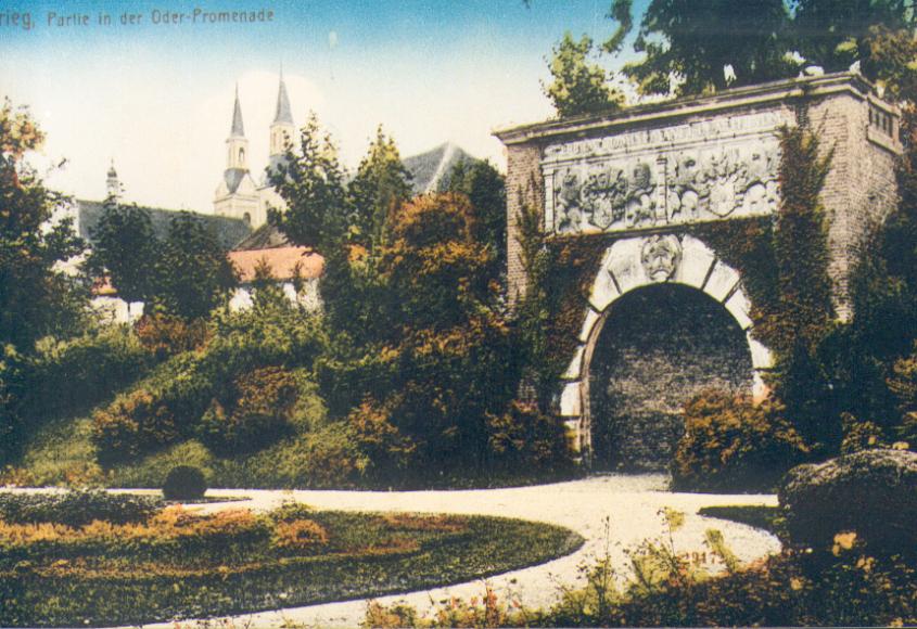 Brama Odrzańska - widokówka
