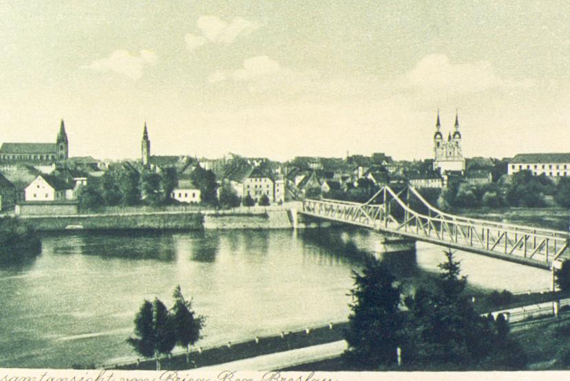 Mosta na Odrze