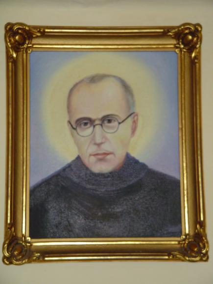 Obraz św Maksymiliana Kolbego