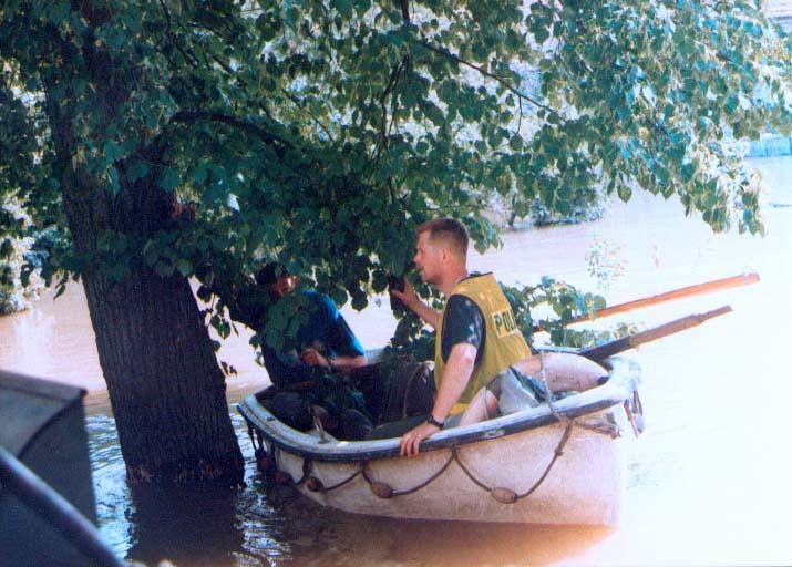 Patrol Policyjny- Czepielowice 14.07.1997