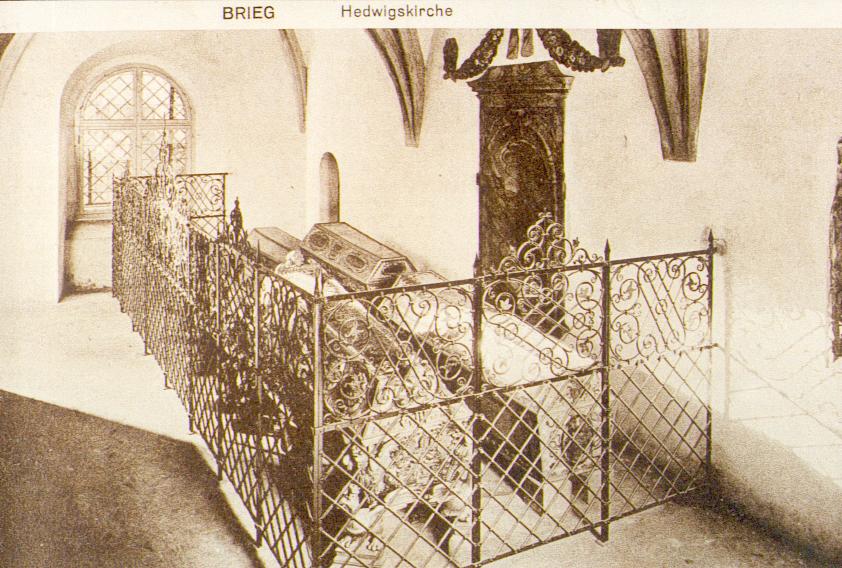 Kaplica św. Jadwigii - widokówka
