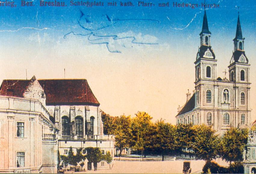 Plac Zamkowy - widokówka