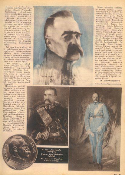 Józef Piłsudski w sztuce