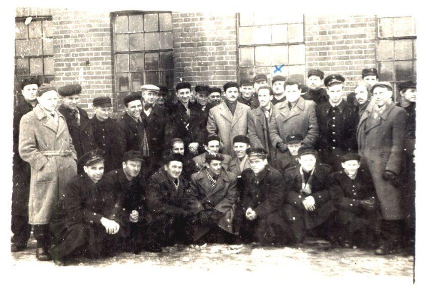Kurs PKP-Wrocław-30.03.1958r.