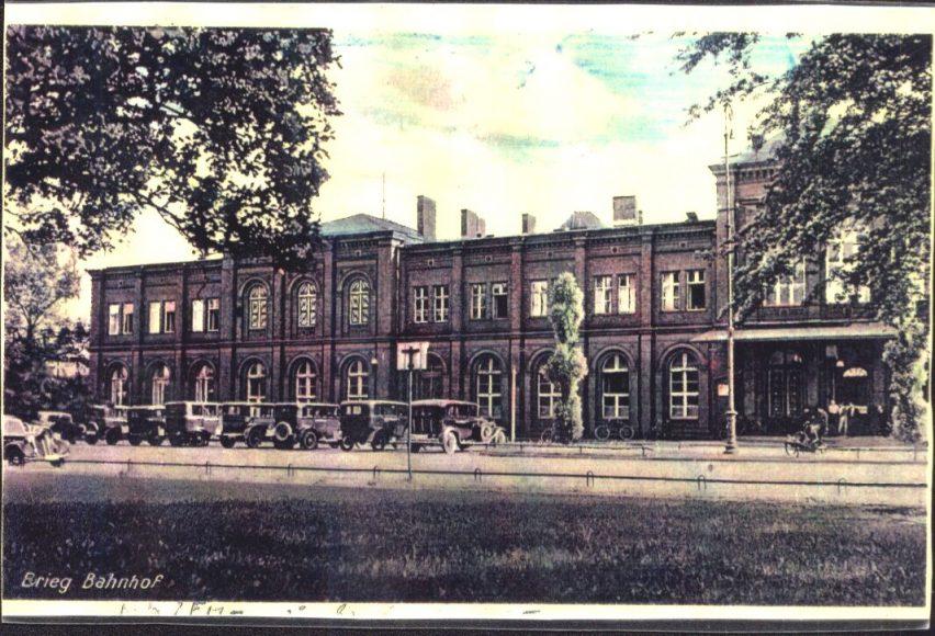 Dworzec kolejowy  sprzed wojny