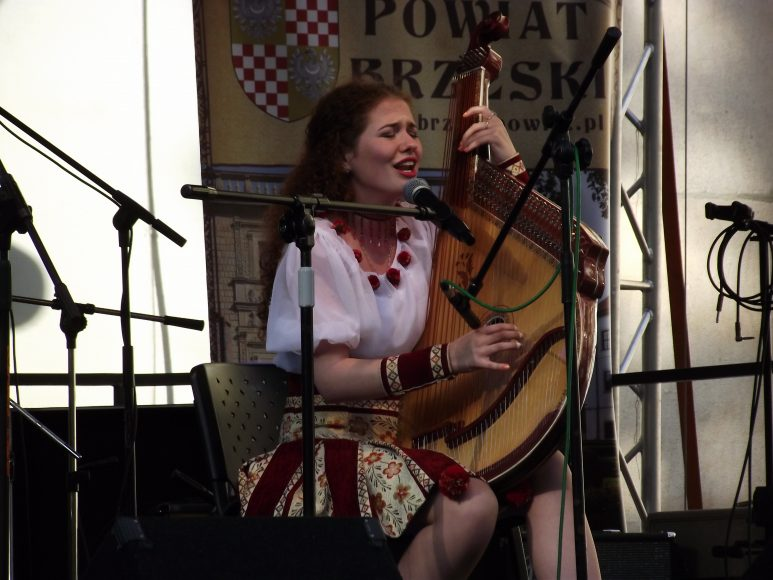 Występ podczas   I Polonijnego Festiwalu Polskiej Piosenki