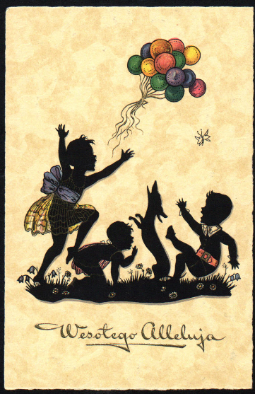 wielkanocne pocztówki 4