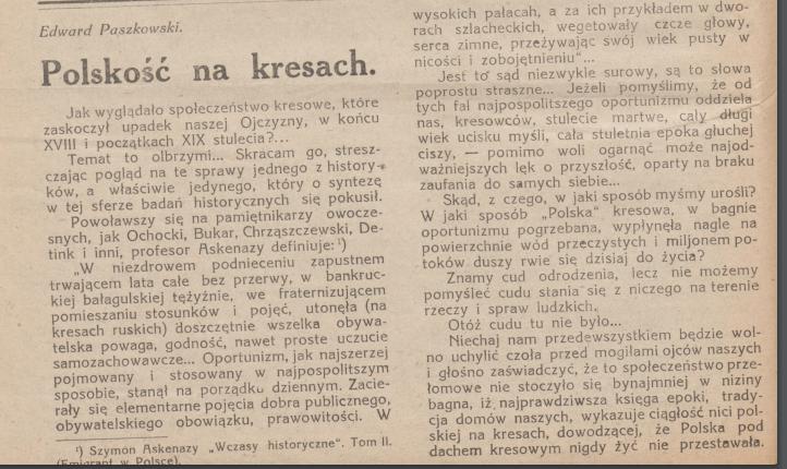 Głos wołyński 1922 r.