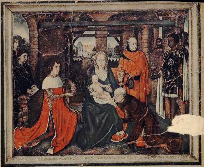 Hans Memling Hołd Trzech Króli